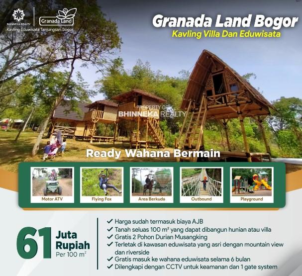 Jual Tanah Kavling di Granada Land Bogor